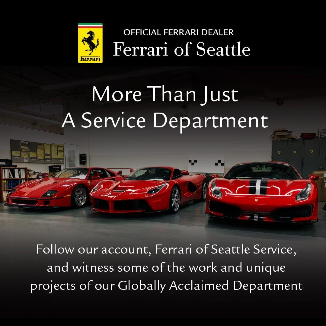 Service Parts Department Seattle Ferrari Dealer In Redmond Wa New And Used Ferrari Dealership Bellevue Redmond Renton Wa